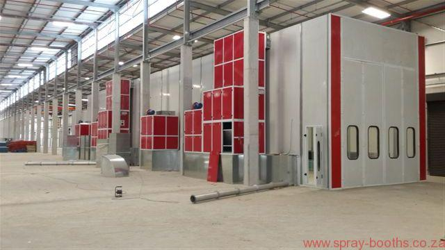 Bus Coach Truck Booths - Spray Booths Suppliers South Africa