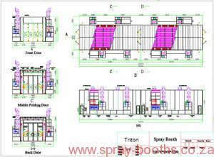 Busmark 2000 Custom Bus Spray Booth 21 5562413