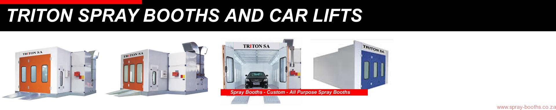 Spray Booth Suppliers Triton car lifts 2 post hoist 021 5562413