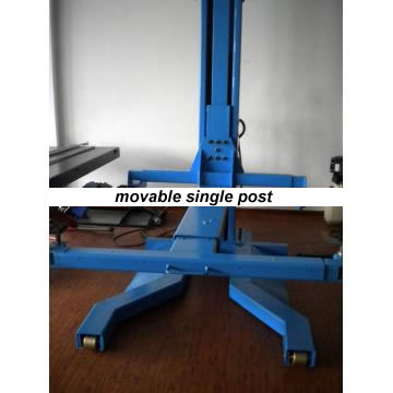 Single Post Hydraulic Lift - Portable (movable) 2 5 TON