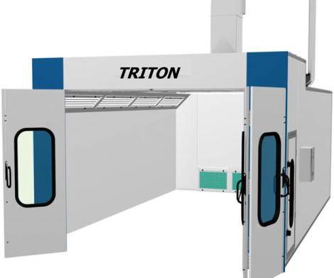 Triton Spray Booth economy type 021 5562413